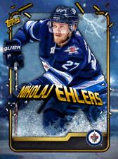2019 BREAKAWAY GOLD BASE NIKOLAJ EHLERS LE 150cc Topps NHL Skate Digital Card