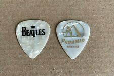 Cheap Trick - The Beatles Tom Petersson 2004 Tour Issued Guitar Pick Pyramid