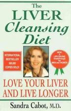 The Liver-Cleansing Diet, Sandra Cabot, Good Condition, Book