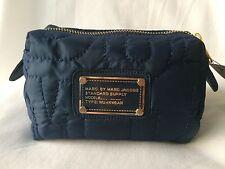 Marc by Marc Jacobs women nylon Navy clutch handbag cosmetic bag