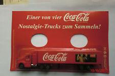 1:87-H0-LKW-Coca Cola-Nostalgie-Trucks zum Sammeln - neuwertig in  OVP    Nr.034