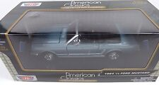 Motor Max American Classics 1964 1/2 Ford Mustang 1:24 Diecast Car New In Box