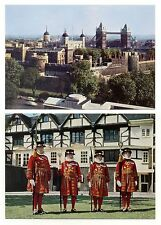 2 AK Tower of London · Yeomen Warders Beefeaters · Postcards 1970s verlagsfrisch