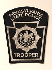 Rare Pennsylvania State Police Trooper Honor Guard Color Guard Subdued Patch