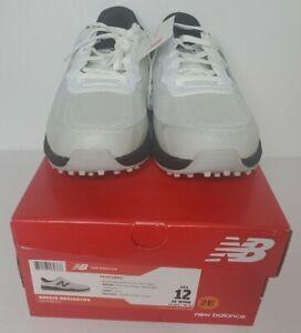 New New Balance Golf- Breeze Shoes White/Black NBG1801WK - Mens Size 12 2E Wide