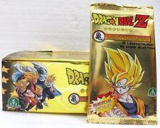 """Dragon Ball Z """"1 box da 36 buste con 5 carte"""" serie GOLD GPZ"""