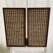 Vintage Dominion Electrohome Kitchener Jensen 3 Way Speakers # 2428 Mid-Century