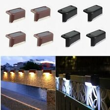 New listing Solar Lights Outdoor LED Waterproof Garden Lamps Decoration Step Fence Stairs