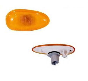 2x Side Fender Repeater Lamp Light Amber For Daewoo Lanos