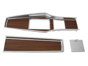 PG Classic 331-70SET Mopar 1969-71 A-body Woodgrain 4-Speed Console Plate Set
