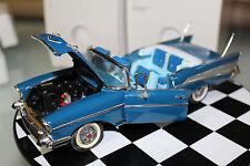 Danbury Mint 1:24 Scale 1957 CHEVROLET BEL AIR (BLUE)