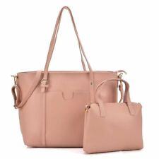 Ladies Bags Light Pink Big Capacity Bag Set With Slim Strap Designer Womans UK
