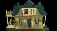 Gottschalk Antique Gabled Dollhouse with fold down Garden