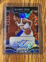 2019-20 Prizm Allonzo Trier Choice Signatures Auto Autograph NY Knicks 🔥🔥