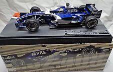 BUILT 1/18 WILLIAMS F1 2006 Formula 1 GP BAHARAIN N. ROSBERG Hot Wheels Racing