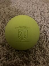 Premier Lacrosse League Official Game Balls, Green. 3 Pack. New w/ minor scuffs