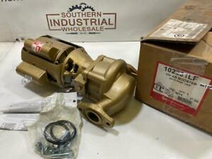 Bell and Gossett 102231LF Booster Pump HV AB Series 1/6HP 1725RPM 115V 1Ph