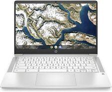 "HP Chromebook 14"" HD Laptop (Celeron N4000, 4G, 32G) 14a-na0020nr Ceramic White"