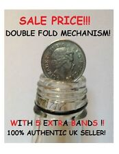 COIN IN BOTTLE / FOLDING COIN 10p (Double Fold)