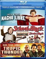 Jack Black: Triple Feature - Macho Libre - Tropic Thunder [Blu-ray] (Bilingual)
