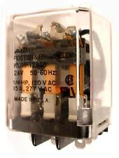 AMF POTTER BRUMFIELD RELAY 3 POLE NORMALLY OPEN 8 LUG 24V COIL KUMP 12A58