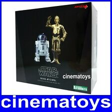 STAR WARS C-3PO E R2-D2 DROIDI ART FX SCALA 1/10 KOTOBUKIYA MODEL KIT STATUE