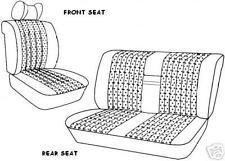 W108 MERCEDES SEAT COVERS  front & Rear 250S, 250SE, 280se, 280se 4.5, 280SEL