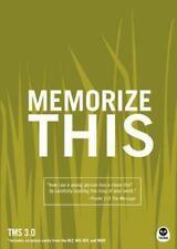 Memorize This: TMS 3.0, Rutledge, Mason D, Good Book