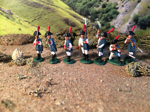 HaT Napoleonic Spanish light infantry 1:72 painted