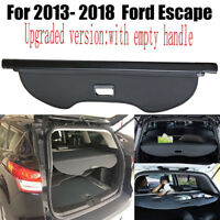 Fit For 2013 2019 Ford Escape Retractable Trunk Cargo Cover Shield