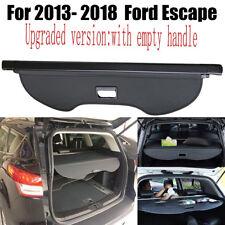 For 2013-2019 Ford Escape Retractable Black Cargo Cover Rear Trunk Privacy Shade