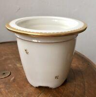 Superbe petit cache-pot de table PORCELAINE DE SEVRES 1907