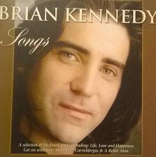BRIAN KENNEDY  * SONGS *  RARE 10 TRACK IRISH PROMO CD CARD CASE U2