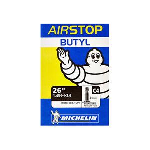 """Michelin Airstop C4 Mountain Bike Inner Tube 26"""" x 1.45-2.6 Schrader - 34mm"""
