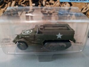 Johnny Lightning D-Day WWII M-16 Half Track Die Cast Toy Collectible 1:64 NIP