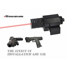 Hunting Tactical Gun Rifle Pistol Picatinny Mount Red Laser Dot Sight Scope New