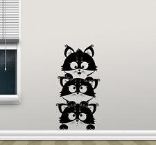 Kittens Wall Decal Cats Nursery Vinyl Sticker Decor Art Bedroom Poster 96hor