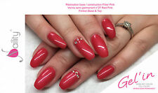 Vernis Semi Permanent NAILITY UV/LED/CCFL n°27ml Red Pink GEL POLISH USA