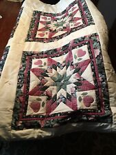 Full-size quilt With 2 matching shams