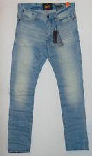 BNWT Superdry Biker Edition Loose Tapered  W32 L34  Mens Blue Denim Jeans