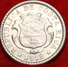 1912 Costa Rica 10 Centimos Foreign Coin