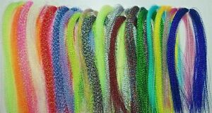 Crystal Flash - Various Colours - Fly Tying, Jig or Lure Making