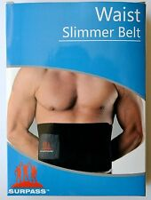 Surpass Adjustable Waist Trimmer Belt One Size Black