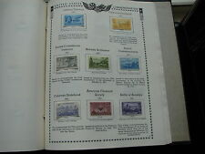 US Old Stamps on Album Page Mint Hinged 1950-51 Nice Lot