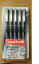 UNI-BALL Pin Fine Line DRAWING PEN 5-PACK