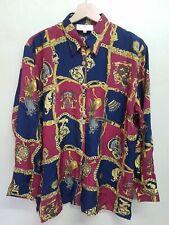 Retro Taglia M Nero Multicolore Camicie Etro Camicia In Pura