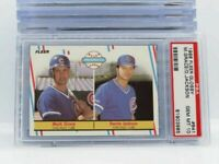 1988 FLEER UPDATE GLOSSY #641 MARK GRACE RC ROOKIE CHICAGO CUBS PSA 10 GEM MINT