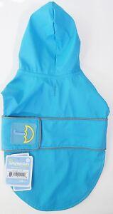 Jelly Wellies  Dog Raincoat, Blue Green - XS - NWT rain JW-3000