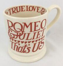 RARE Retired Emma Bridgewater Romeo Juliet Hearts 1/2 Pint Mug 1st New