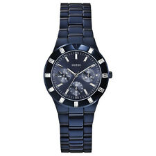 NEW GUESS WATCH for Women * Blue High Shine Multi-Function * U0027L3 / W0027L3